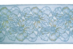 little boy blue, spitze, lace, dentelle, blau